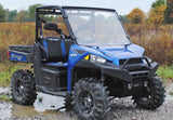 Polaris Ranger Fullsize 570/900 Scratch Resistant Full Windshield : WS-P-RAN900-POLARIS-RANGER-900-WINDSHIELD-5