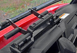 Polaris Ranger Midsize Scratch Resistant Flip Windshield : FWS-P-RANMID-POLARIS-RANGER-MIDSIZE-FLIP-WINDSHIELD-4