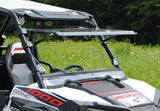 Polaris RZR 900 / 1000 Scratch Resistant Flip Windshield : FWS-P-RZR-1K-POLARIS-RZR-1000-FLIP-WINDSHIELD-1