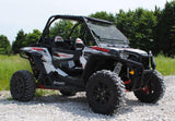 Polaris RZR 900 / 1000 Scratch Resistant Flip Windshield : FWS-P-RZR-1K-POLARIS-RZR-1000-FLIP-WINDSHIELD-4
