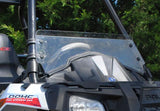 Polaris Sportsman ACE Scratch Resistant Half Windshield : HWS-P-ACE-POLARIS-ACE-HALF-WINDSHIELD-1