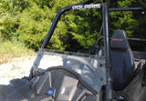 Polaris Sportsman ACE Scratch Resistant Half Windshield : HWS-P-ACE-POLARIS-ACE-HALF-WINDSHIELD-4