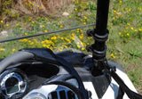 Polaris Sportsman ACE Scratch Resistant Half Windshield : HWS-P-ACE-POLARIS-ACE-HALF-WINDSHIELD-5