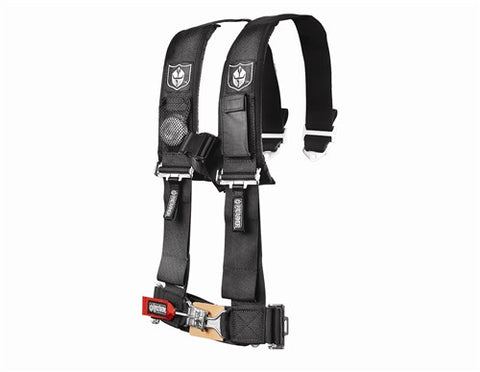 Pro Armor 4 Point 3 Inch Harness Black