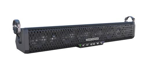 Pro Armor Bluetooth Sound Bar - 8 Speaker with Integrated Amp