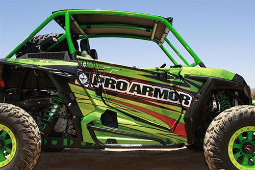 Pro Armor Tube Rock Sliders Rzr Xp 1000 Xp Turbo S