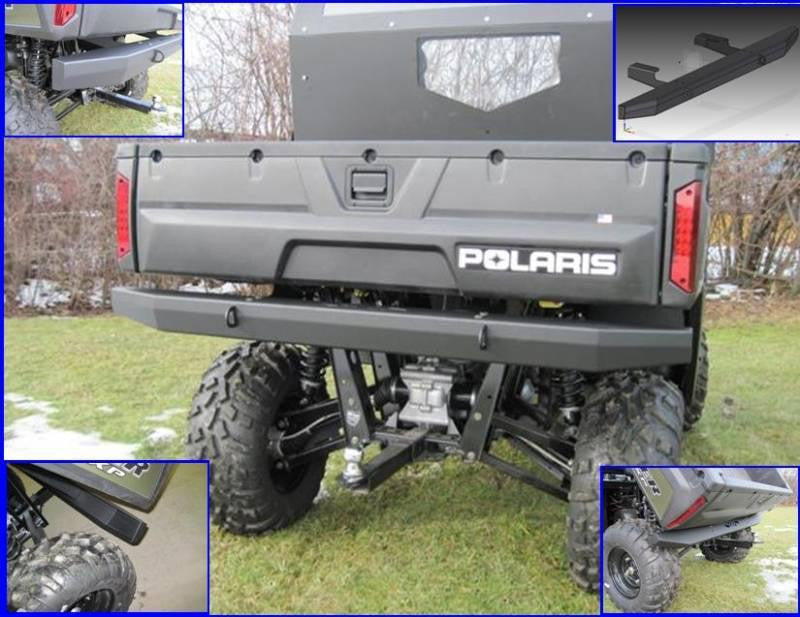 Traditional Rear Bumper - 2009-14 Full Size Ranger 700/800 and 800 Crew