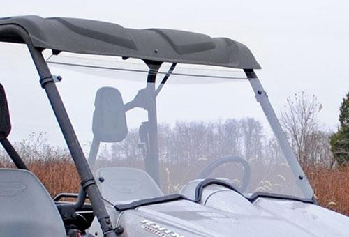 Yamaha Rhino Scratch Resistant Full Windshield