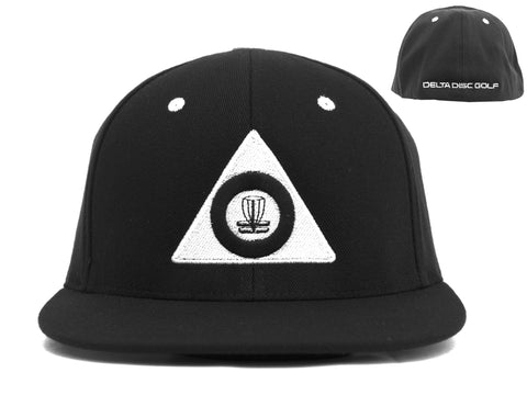 Delta Disc Golf Flat Bill Flex-Fit Cap