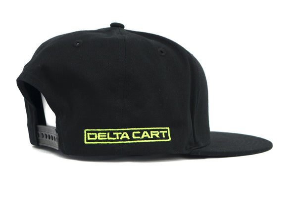 Delta Disc Golf Flat Bill Snap Back Small Triangle