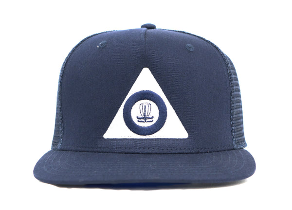 Delta Disc Golf Flat Bill Foam Trucker Cap