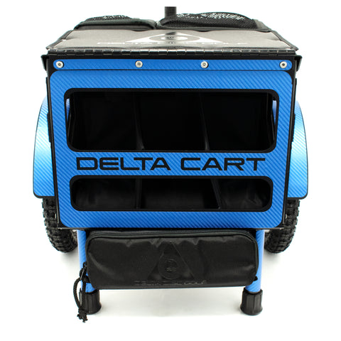 Delta Cart 12 Blue Carbon Fiber