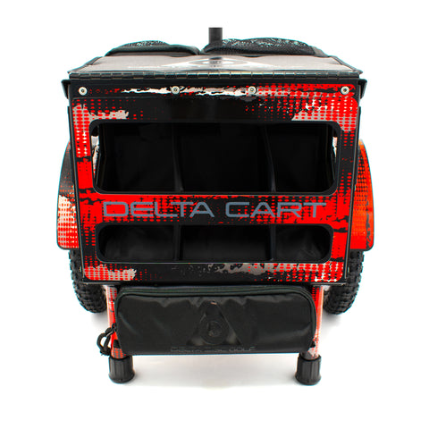 Delta Cart 12 Red/Gray/Black Fracture