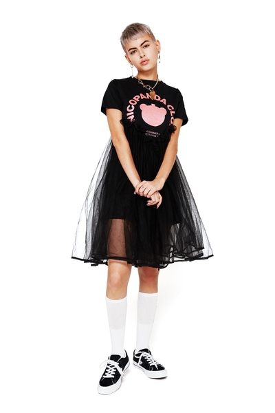 Tulle T-Shirt Dress