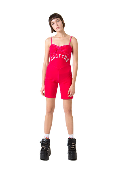 Anarchy Velour Romper