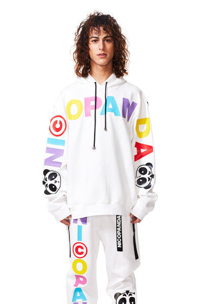 PANDA NATION HOODED SWEATSHIRT