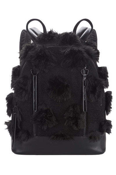 FAUX FUR BAMBI BACKPACK