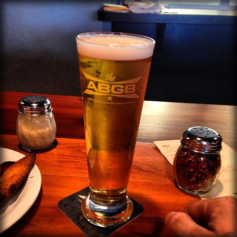 The ABGB Pilsner Glass