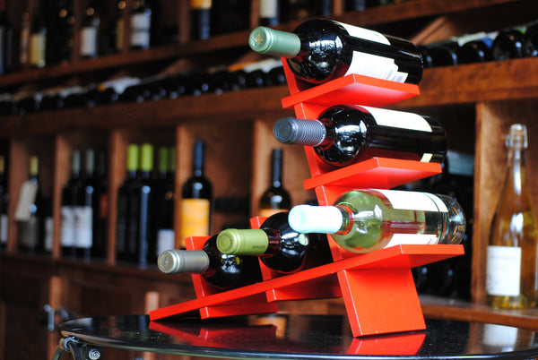 Red BYO Wine Rack