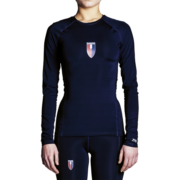 RowAmerica Womens Titanium Long Sleeve (Lightweight Compression)