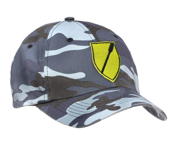 Scull & Sweep Camo Cap