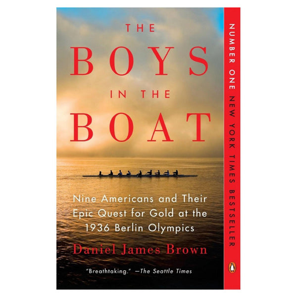 Rowing Apparel - The Boys In The Boat Book