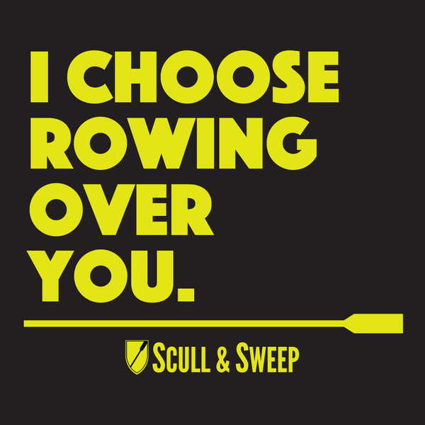 Scull & Sweep I Choose Rowing - Rowing Accessories