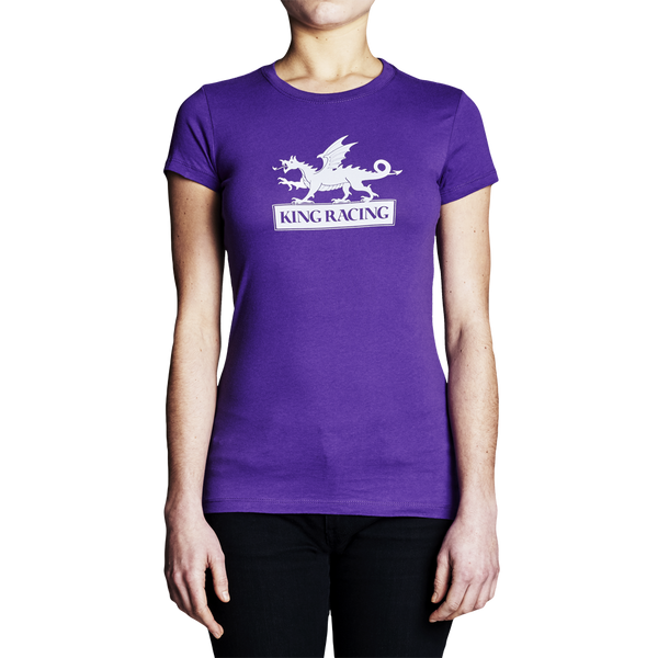 King Racing Womens Logo T-Shirt