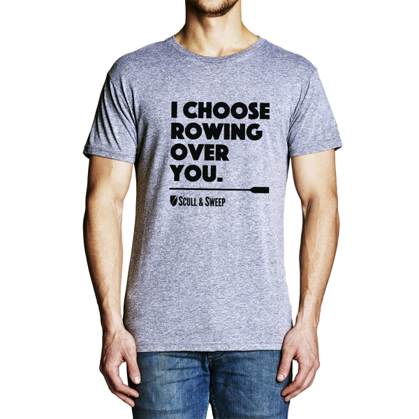 Mens Choose Rowing T-Shirt