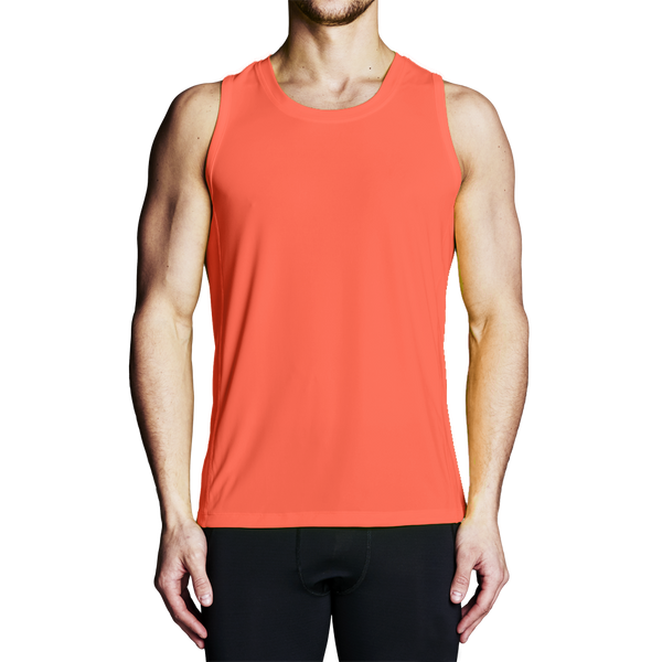 High Visibility Shirts - Men's Orange Regatta Tank Top