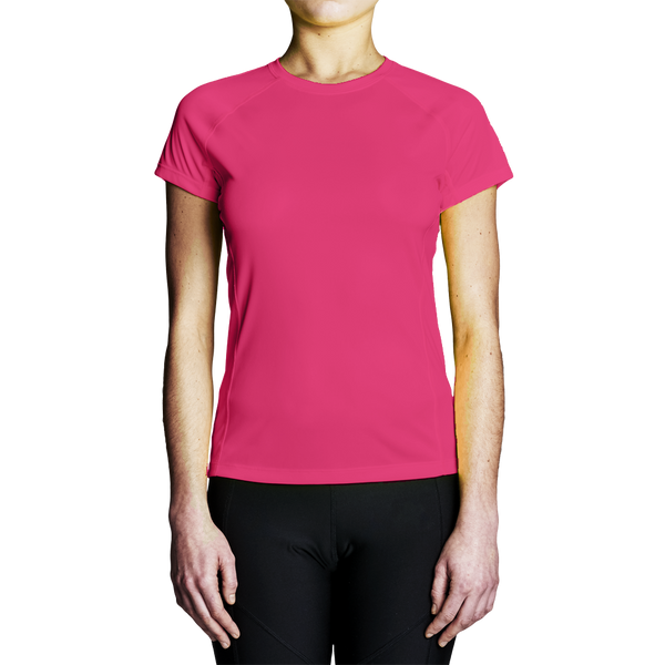 High Visibility Shirts - Women's Pink Regatta Short Sleeve T-Shirt