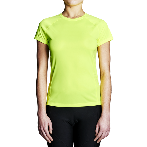 High Visibility Rowing Shirt - Women's Yellow Regatta Short Sleeve T-Shirt