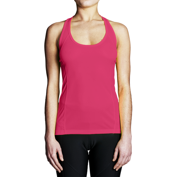 High Visibility Rowing Apparel - Women's Pink Rowing Tank Top