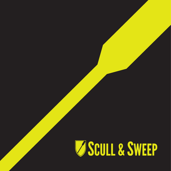 Gifts For Rowers - Scull & Sweep Single Oar Poster