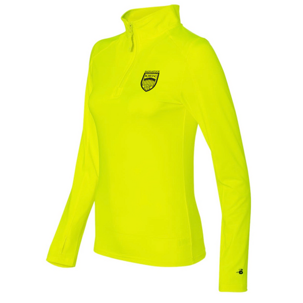 Saugatuck Womens Power 1/2 Zip Training Top (Midweight)