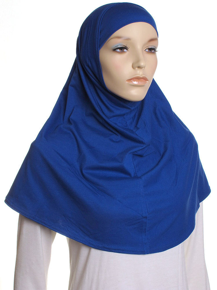 Royal Plain Cotton 2 Pce Al Amira Hijab - Hijab Store Online