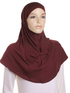 Berry Plain Cotton 2 Pce Al Amira Hijab