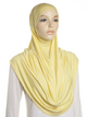 Lemon Plain Pull On Style Al Amira Hijab