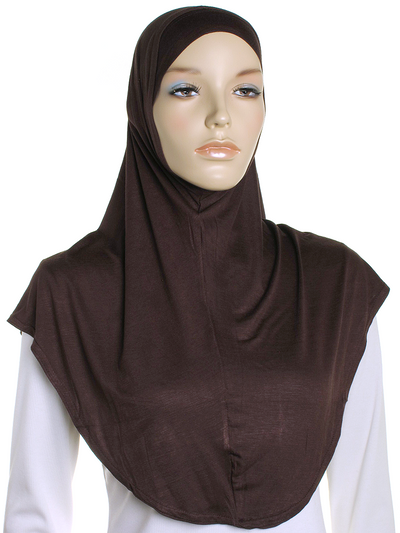 Brown Sports Al Amira Hijab