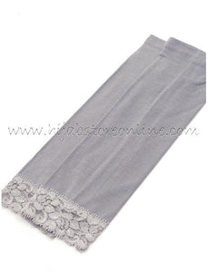 Grey Forearm Cotton Sleeves - Hijab Store Online