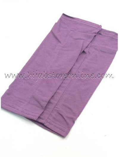 Plum Forearm Cotton Sleeves - Hijab Store Online