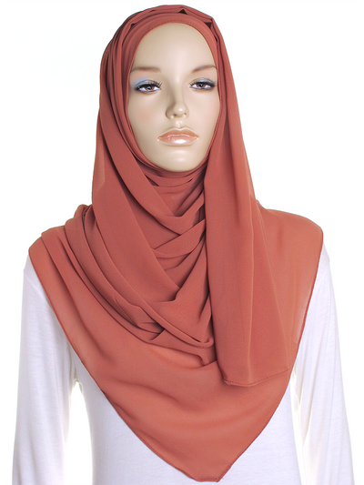 Autumn Fall Chiffon Hijab