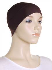 Brown Wide Plain Headband
