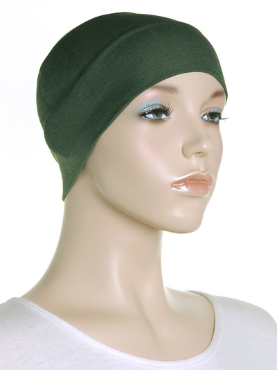 Green Wide Plain Headband