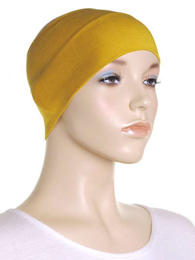 Mustard Wide Plain Headband