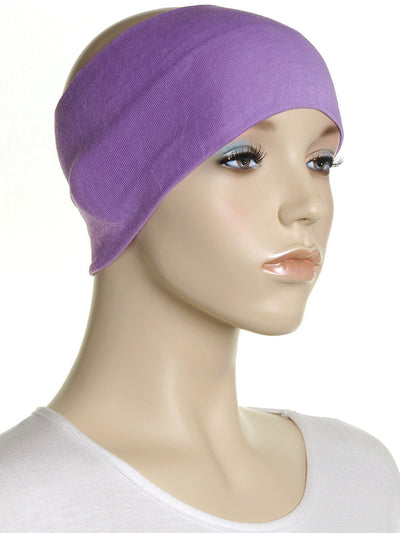 Orchid Extra Wide Plain Headband - Hijab Store Online