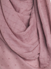 Dusty Mauve Dotted Cotton Hijab - Hijab Store Online