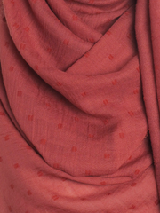 Light Mahogany Dotted Cotton Hijab - Hijab Store Online