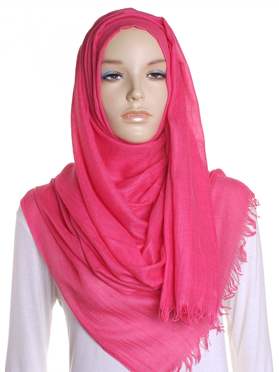 Hot Pink Extra Large Hijab - Hijab Store Online