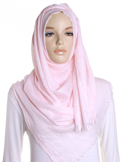Pale Pink Extra Large Hijab - Hijab Store Online